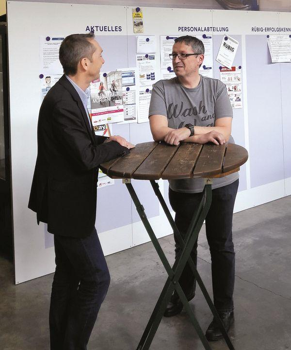 Mayer Markus Elektro-Konstrukteur Mitarbeiter RÜBIG