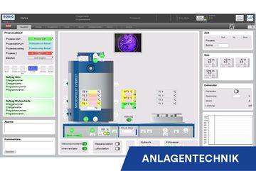Visualisierung und Steuerung neu, Plasmanitrieranlagen, RÜBIG Anlagentechnik