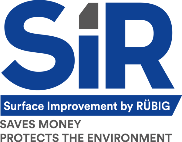 SIR, Surface Improvement by RÜBIG Logo, RÜBIG Anlagentechnik