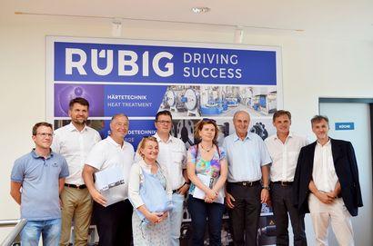 RÜBIG im ORF - Wirtschaftspressereise