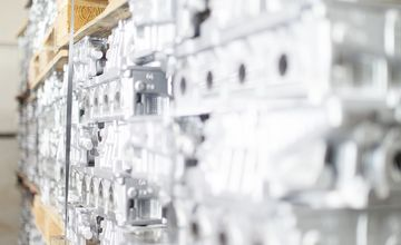 RÜBIG Aluminum Teile, RÜBIG Härtetechnik