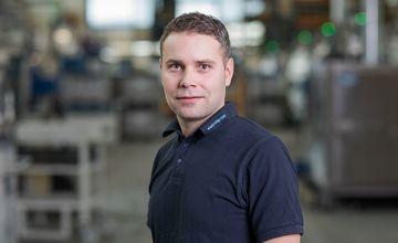Steve Bucher, RÜBIG Aluminium, Produktionsleitung Werk Pilsting