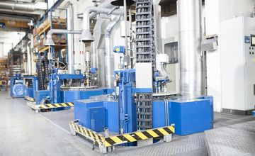 Gasnitrieren, Anlagen, RÜBIG Härtetechnik