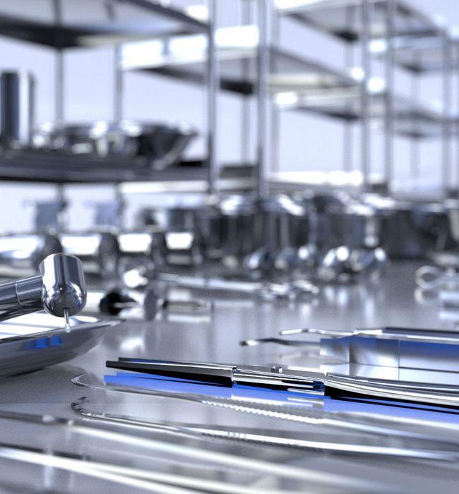 Hohe Verschleiß- und Korrosionsbeständigkeit für Chirurgische Instrumente durch Wärmebehandlung
