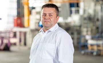 Patrick Hacker, Betriebsleitung, RÜBIG Aluminium